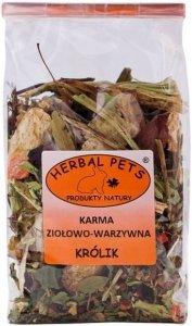 Herbal Pets 4371 Karma ziołowo-warzyw królik 150g