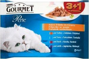 Gourmet Perle 4x85g Standart saszetki 3+1gratis