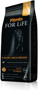 Fitmin Dog 3kg for Life Junior large br.