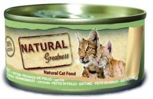 NGP+ 98100070 Natural Cat 70g Kitten kurczak