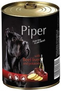 Piper 4430 puszka 400g wątroba wołowina ziemia