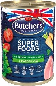 Butchers 5772 Superfood Indyk z warzywami 400g