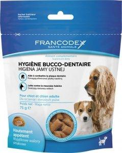 Francodex 170238 przysmak na higiene jamy pies 75g
