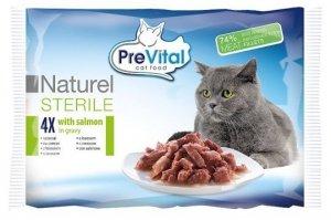 PreVital 0030 Multi 4x85g Naturel Sterile łosoś