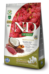 ND Dog NG 5660 Adult Quinoa 7kg Skin&Coat Duck