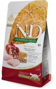 ND Cat LG 0474 Adult 300g Neutered Chicken&Pome