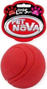 Pet Nova 2073 Piłka tenisowa 5cm, czerwona wołowa