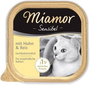 Miamor 75051 Sensibel kurczak ryż 100g szalka