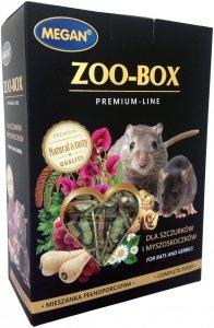 Megan ME210 Zoo-Box dla szczurka i myszosko 550g
