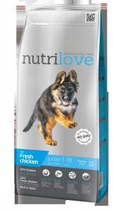 Nutrilove Dog 11470 Junior L 3kg kurczak