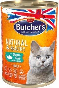 Butchers 5703 Cat Natural&Healthy 400g ryba gal