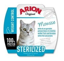 Arion 8889 Cat Original Sterilized 70g mousse