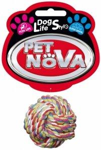 Pet Nova 2878 Zabawka BALL Piłka sznur 5cm