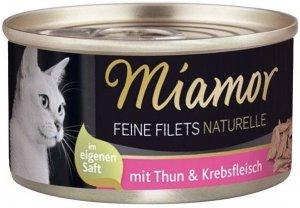 Miamor 75016 Filets Naturelle Tuńczyk Krab 80g