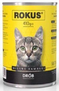 Rokus Cat 410g Drób