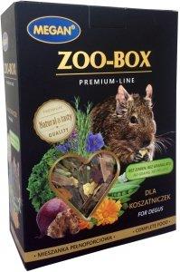 Megan ME209 Zoo-Box dla koszatniczki 420g