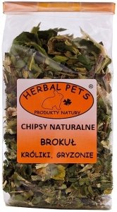 Herbal Pets 4333 Chipsy Brokuł 50g