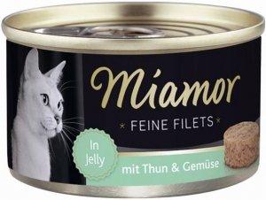 Miamor 74047 Feline Filets Heller Tuńczyk+War 100g
