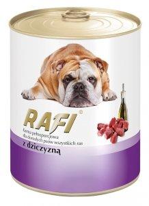 Rafi 1141 puszka 800g z dziczyzną dla psa