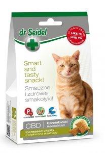 Dr Seidel 1605 Smakołyki d/kotów Vitalność CBD 50g