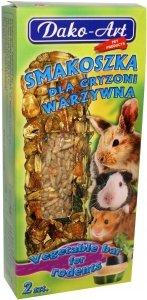 Dako-Art 310 Smakoszka warzywna 2szt kolby gryzoń