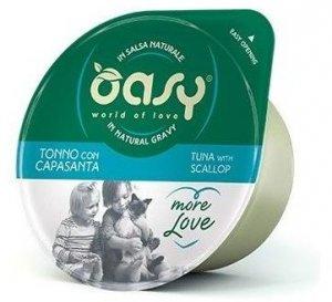 OASY 6991 More Love Cup tuńczyk z przegrzebk 70g