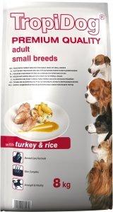 Tropidog 57047 Premium Adult S Turkey&Rice 8kg