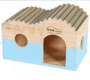 Zolux 209767 Domek Home Color z bali L 203x297x180