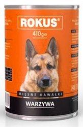 Rokus Dog 410g Mięso Warzywa
