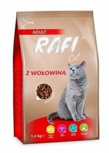 Rafi Cat 0703 Sucha 1,4kg z wołowiną