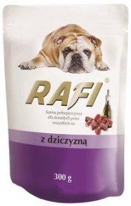 Rafi 1358 saszetka z dziczyzną 300g dla psa