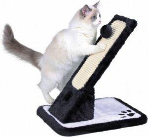 Trixie 43115 Drapak dla kota 30x42x40 czarno-biały
