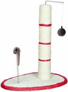 Trixie 4306 Drapak z piłką i myszką 50cm