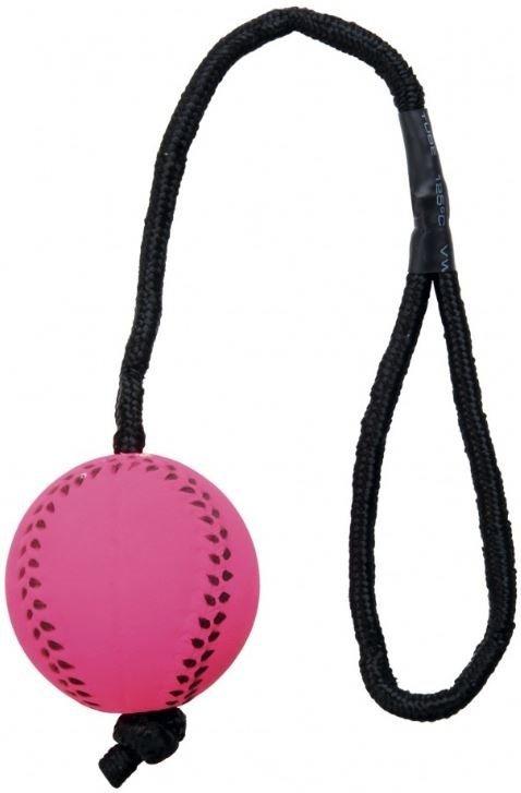 Trixie 3459 Piłki Neonowe z miękkiej gumy 1szt