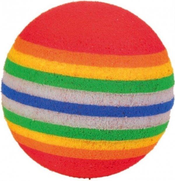 Trixie 4132 Piłki dla kota różne 4cm-3szt/op