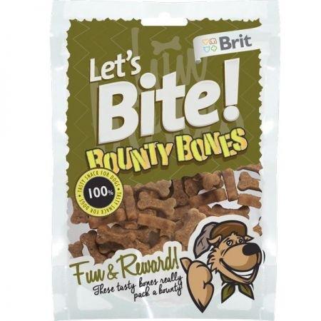 Brit Let's Bite N Dog Bounty Bones 150g*