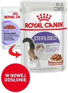 Royal 237400 Sterilised w sosie 85g
