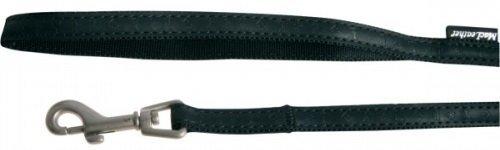 Zolux 522015NO Smycz Mac Leather 15mm/1,2m czarny