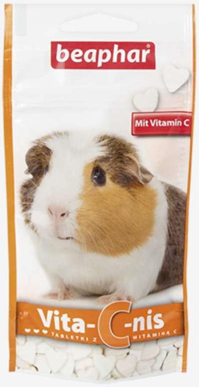Beaphar 11450 Vita-C-Nis 50g tabletki świnka morsk