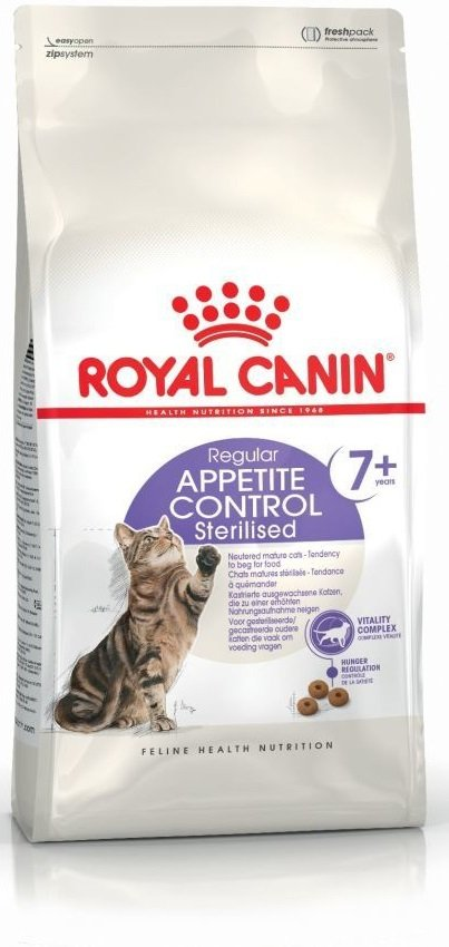 Royal 228100 Sterilised Appetite Control 7+ 400g