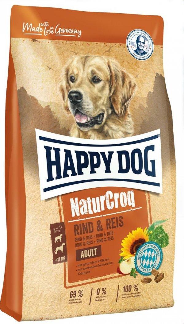Happy Dog 6847 NaturCroq wołowina ryż 15kg
