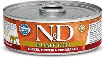 ND Cat 2086 Pumpkin Adult 80g Chicken Pomegranat