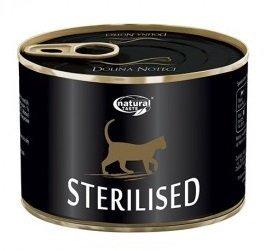 Natural Taste Cat 0554 Sterilised puszka 185g