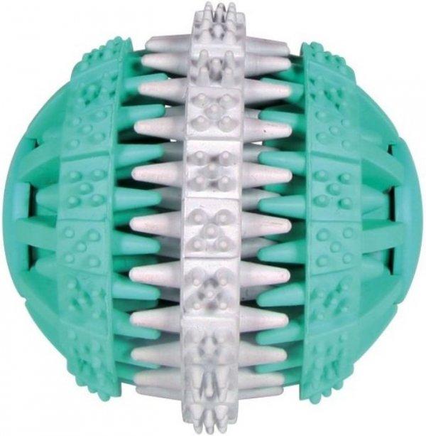 Trixie 32942 Piłka gumowa z miętą DENTAFUN 7,5cm