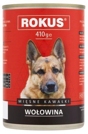 Rokus Dog 410g Wołowina
