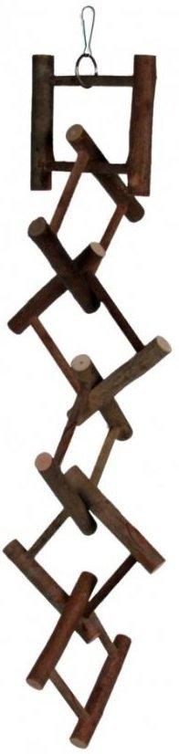 Trixie 5885 Zabawka drewniana dla ptaków 50cm