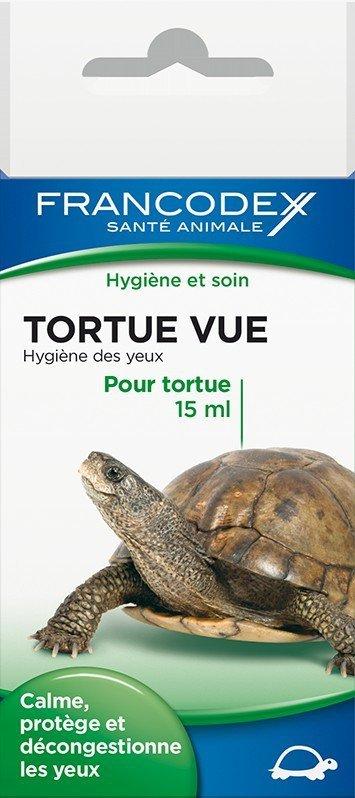 Francodex 174055 Płyn do czyszcz. oczu żółwi 15ml