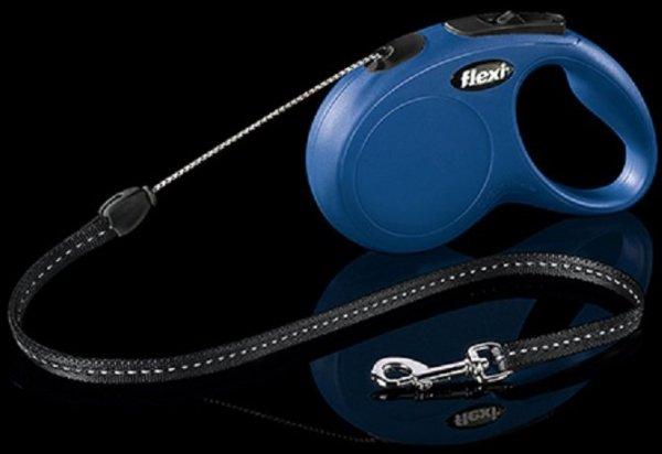 Flexi 2251 Classic S Cord 5m 12kg niebieska