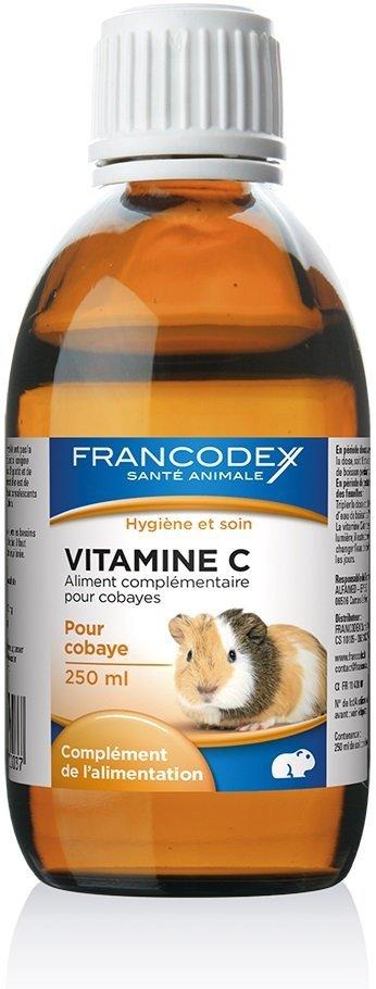 Francodex 170003 Witamina C dla gryzoni 250ml