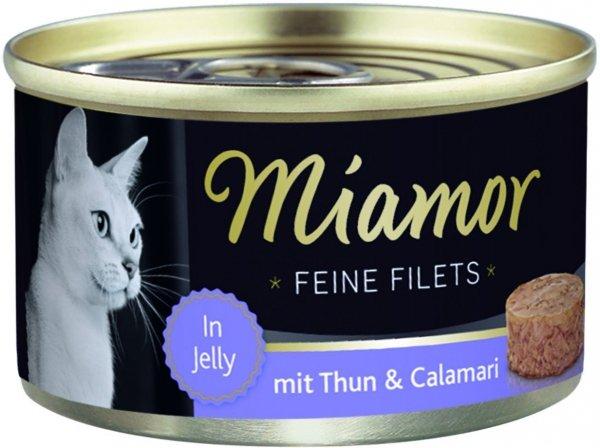 Miamor 74049 Feline Filets tuńczyk+kalmary 100gr